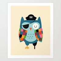 """"""" Captain Whooo"""" by Andy Westface"""