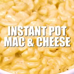 The BEST creamiest instant pot mac and cheese recipe. So easy and everyone goes crazy for it! #instantpot #macandcheese #instantpotrecipes #instantpotmacandcheese #dinner