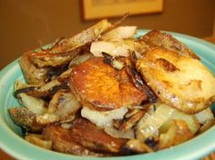 Easy Fried Potatoes & Onions from Food.com:   This is so good.  My grandmother was from Ireland and she used to make this dish all the time.  When I make it, it always reminds me of her.  I hope you enjoy it :)
