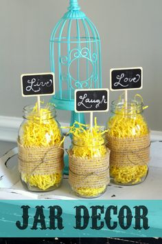 CUTE Jar Decorations
