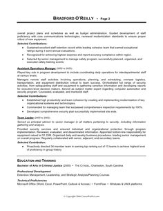Military to Civilian Transitional Resume | Executive Resumes ...