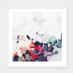 October by Patricia Vargas of Parima Studio // abstract art