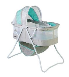 Karley Bassinet, Made Of A Polyester Foam Fabric