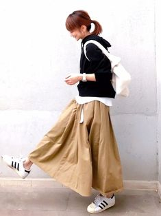 Women S Over 50 Fashion Styles 2015 Autumn Fashion Women Fall Outfits, Winter Fashion, Womens Fashion, Japan Fashion, Daily Fashion, 50 Fashion, Fashion Styles, Fashion Boots, Style Hijab Simple