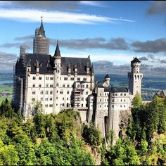 """See 3484 photos and 344 tips from 21592 visitors to Schloss Neuschwanstein. """"Tour felt rushed and only covers the small-ish percentage of the castle. Travel Pictures, Travel Photos, The Places Youll Go, Places To Visit, Munich, Backpack Through Europe, Neuschwanstein Castle, Backpacking Europe, Dream Vacations"""