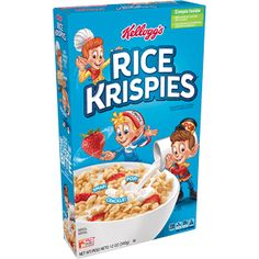(Discontinued Version) Kellogg's Frosted Krispies, Breakfast Cereal, Toasted Rice Cereal, Fat-Free, oz Box(Pack of Rice Cereal, Cereal Boxes, Cereal Cookies, Fruit Cookies, Crunch Cereal, Crispy Cookies, Spice Cookies, Raisin Cookies, Marshmallow Creme