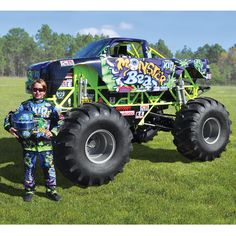 Mini Monster Truck Crushes Every Toy Car Your Rich Kid Could Ever Want -  #cars #ford #trucks