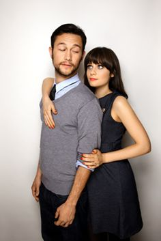 Joseph Gordon-Levitt and Zooey Deschanel: heavy sigh Pretty People, Beautiful People, Beautiful Babies, 500 Days Of Summer, Indie Films, Joseph Gordon Levitt, Boy Meets Girl, Child Actors, Zooey Deschanel