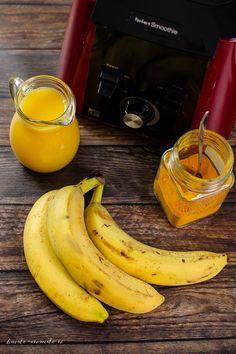 Smoothie vegan cu banane Yummy Food, Tasty, Best Diet Plan, Aesthetic Food, Dessert Recipes, Desserts, Best Diets, Turmeric, Food And Drink