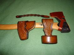 Axe mask and belt loop