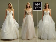 Hayley Paige Spring 2016 Wedding Dresses Are For Rocker Ballerinas | Photo by: Maria Valentino/ MCV Photo | TheKnot.com