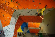 Arena Wspinaczkowa Makak, indoor climbing gym, Warsaw, Poland