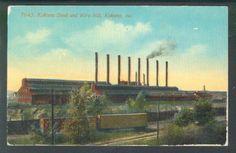 Kokomo Steel and Wire Mill Kokomo Indiana 1920