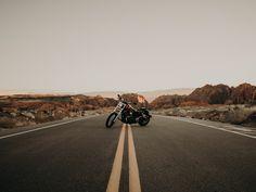 Free Asphalt, Infrastructure, Motorcycle, Landscape Wallpaper, Background and Image