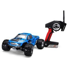 62.99$  Buy now - http://aligih.worldwells.pw/go.php?t=32632131177 - Wholesale Wltoys A979 1/18 2.4GHz 4WD Monster Rc Racing Car Remote Control Cars Radio-controlled Cars Machine 62.99$
