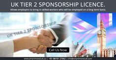 Apply For Sponsor License! Speak to the experts now on +91 98191 27002 or visit http://www.smartmove2uk.com/uk-visa-sponsorship-license-consultant-india/#Tier-2-Sponsor-License #UKVisa #UKVisaConsultant #VisaSponsorshipLicence