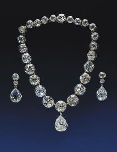 Gems: The Coronation necklace and earrings