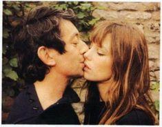 Serge Gainsbourg and Jane Birkin, 1970s