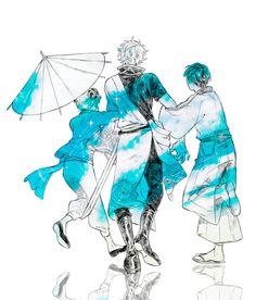 Manga Anime Girl, Otaku Anime, Anime Art, Gintama Funny, Gintama Wallpaper, Fairy Tail Art, Anime Kunst, Cartoon Shows, Akatsuki