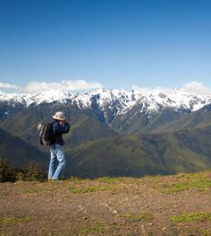 """The best hiking trails you don""""t know in Olympic National Park. #washington #olympicnationalpark #travel"""