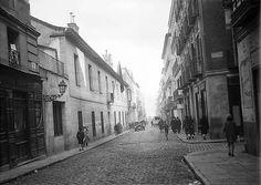 Calle de San Mateo esquina a calle Santa  Águeda 1926.
