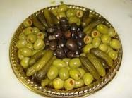 relish tray, served at every gathering