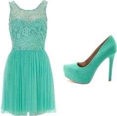 """""""Mint"""" by inew ❤ liked on Polyvore"""