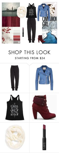 """""""untitled #2"""" by justatallhobbit ❤ liked on Polyvore featuring Donna Karan, IRO, Echo and NARS Cosmetics"""