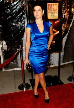 Marisa Tomei's Blue dress (front)