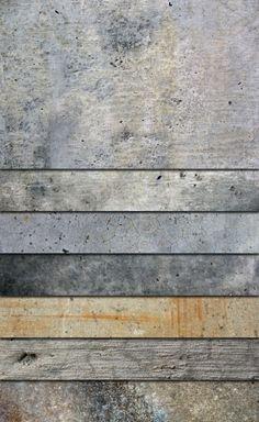 Grunge concreto texturas