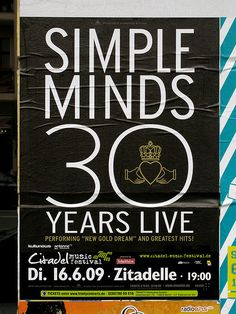 30 years simple minds