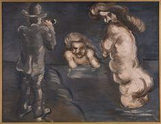 Vilhelm Lundstrøm, Manden der ser alt, 1919, olie på lærred, 130 x 170,3 cm…