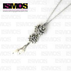 ISMOS Joyería: dije de plata y perlas // ISMOS Jewelry: silver and pearls pendant