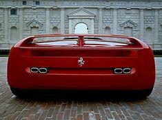 1989 Pininfarina Ferrari Mythos concept. So sleek lines and early 90's, yet so bulky.