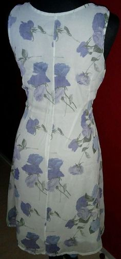 Damenkleid Große Blumen Muster Abendkleid Hellblau 38 M Wie neu in Kleidung & Accessoires, Damenmode, Kleider | eBay!