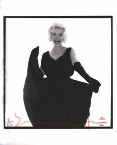Marilyn Monroe Laughing in the Famous Black Dress