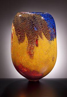 ....Lino Tagliapietra   FUJI by Lino Tagliapietra at Schantz Galleries...Blown Glass,