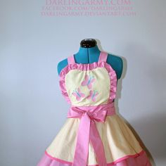 Fluttershy MLP Cosplay Pinafore My Little Pony Dress Accessory | Darling Army
