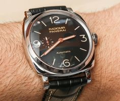 Panerai Radiomir 1940 3 Days Automatic PAM572 Watch And New In House P.4000 Movement Hands On