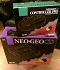 Neo Geo CD Console and Controller Pro. In box. Great shape. All working Japan