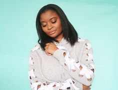 Thrift and charity shops are chock full of hooded sweatshirts sogo ahead and create your own fab lace up hoodie with Ayisha's stellar no sew tute over on The Crafterpreneur: Got a groovy ref…
