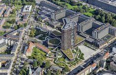 København præmierer Mærsk Tårnet - C.F. Møller. Photo: BYGST and Dragør Luftfoto