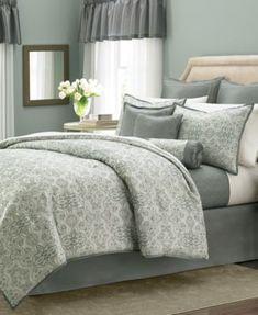 Martha Stewart Collection Regal Filigree 22-Pc. Comforter Sets