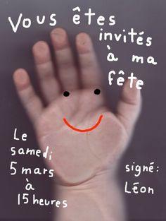 Invitation de Léon