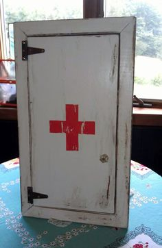 Vintage First Aid Cabinet - Industrial Decor | Décor, Industrial ...