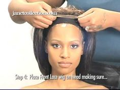 Front Lace Instruction Video - YouTube