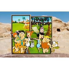 Bring the world-famous and beloved Flintstones family into your crafting with this official collection from Warner Bros. Hanna Barbera, Warner Bros, Scrapbook, Colour, Disney, Card Ideas, Cards, Collection, Color