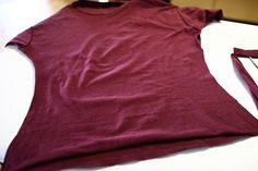 DIY - Husbands Large T-shirt to fitted