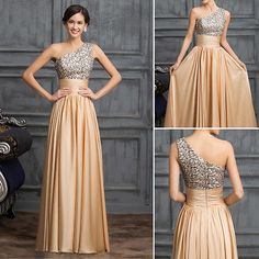 SEQUINS Women Bridesmaid Ball Prom Gown Formal Evening Party Cocktail Long Dress in Clothing, Shoes & Accessories, Women's Clothing, Dresses Prom Dresses 2017, Long Bridesmaid Dresses, Prom Party Dresses, Party Dresses For Women, Formal Evening Dresses, Evening Gowns, Evening Party, Occasion Dresses, Long Gown For Wedding