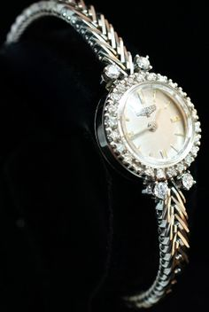Vintage Ladies Longines Diamond Wristwatch by JamieKatesJewelry, $2500.00